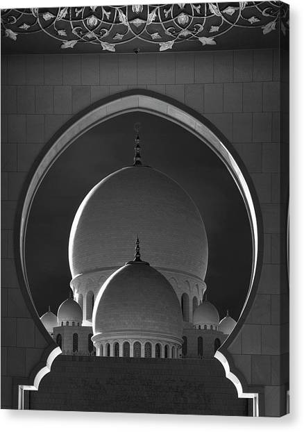 Mosques Canvas Print - Dome Framing by Ahmed Thabet