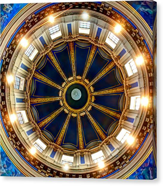 Paul Ryan Canvas Print - Dome Interior by Amanda Stadther