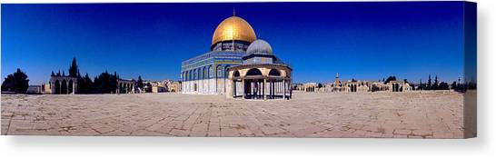 Israeli Canvas Print - Dome Of The Rock, Temple Mount by Panoramic Images