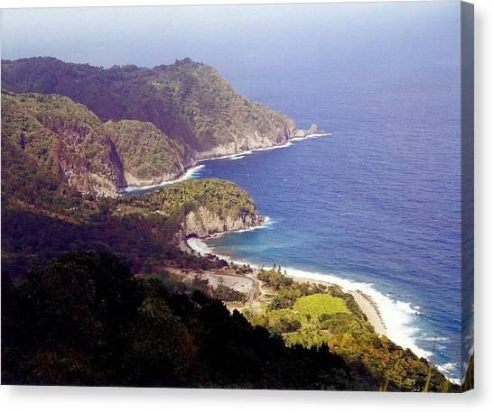 Dominica Coast Line Canvas Print