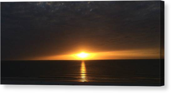 Don Cesar Penthouse Sunset 1 Canvas Print