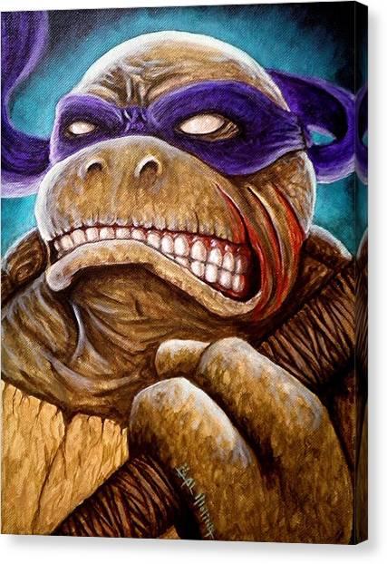 Donatello Unleashed Canvas Print