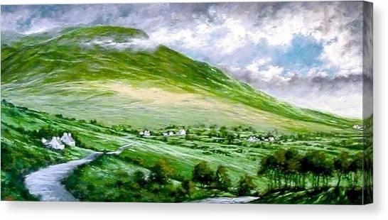 Canvas Print - Donegal Hills by Jim Gola