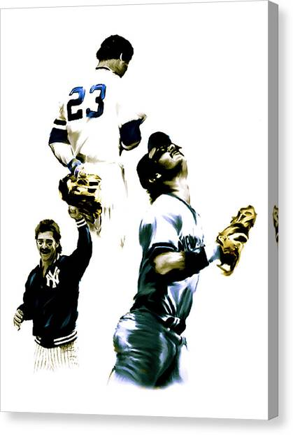 Donnie Baseball  Don Mattingly Canvas Print
