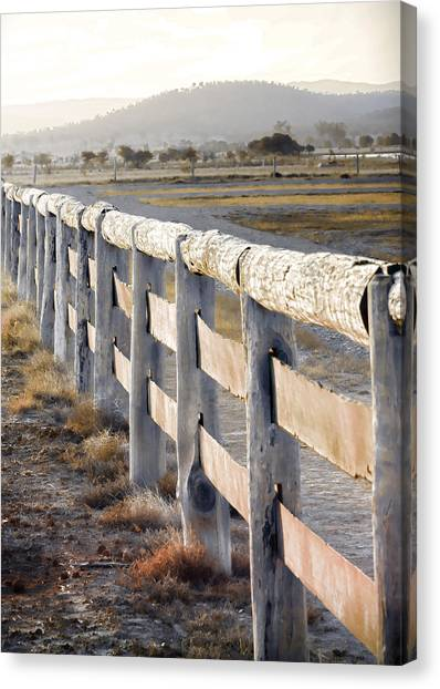 Canvas Print - Don't Fence Me In by Holly Kempe