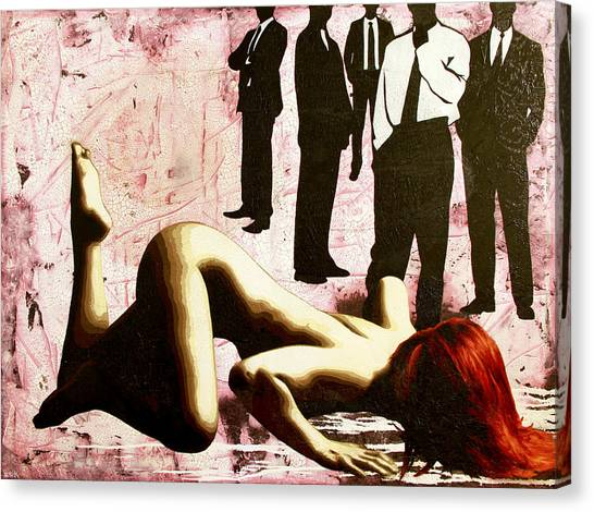 Submission Canvas Print - Don't You Know What You Are? by Bobby Zeik