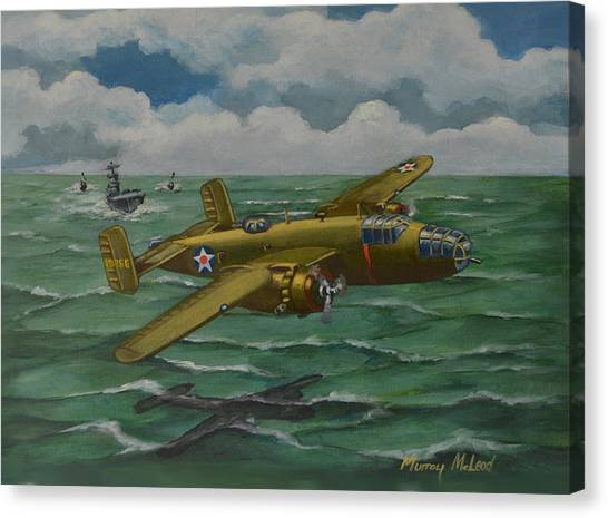 Doolittle Raider 2 Canvas Print