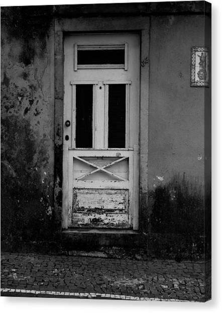 Door-8 Canvas Print