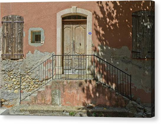Door And Shadow Canvas Print