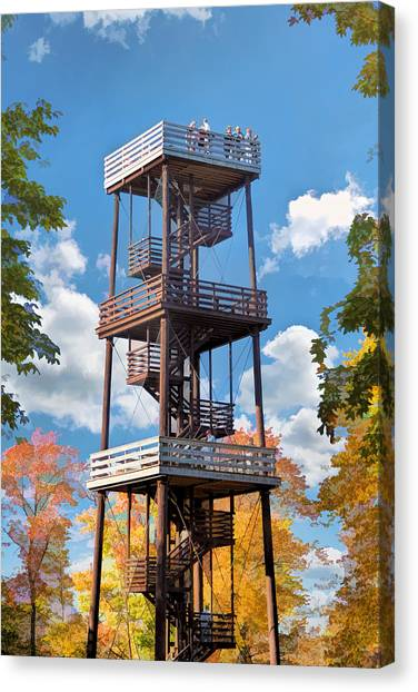 Door County Eagle Tower Peninsula State Park Canvas Print
