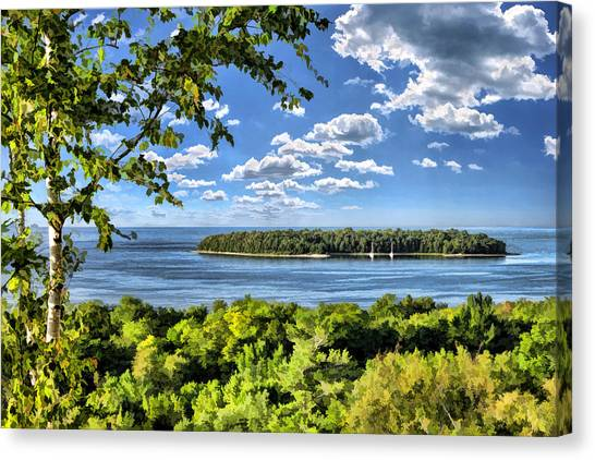 Door County Horseshoe Island Canvas Print