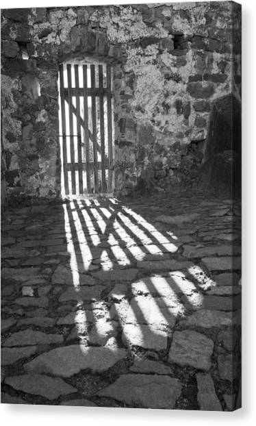 Door In The Sun Canvas Print