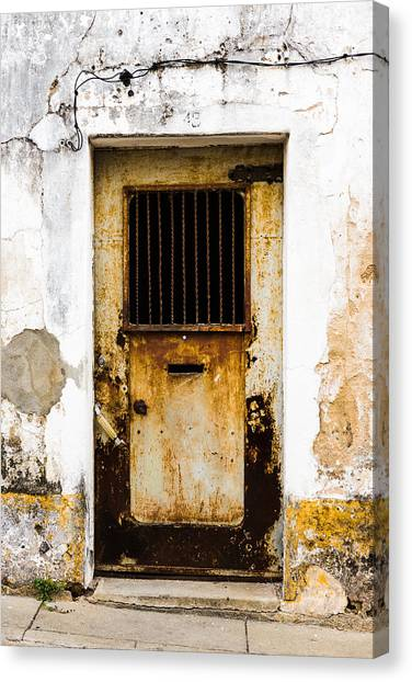 Door No 48 Canvas Print