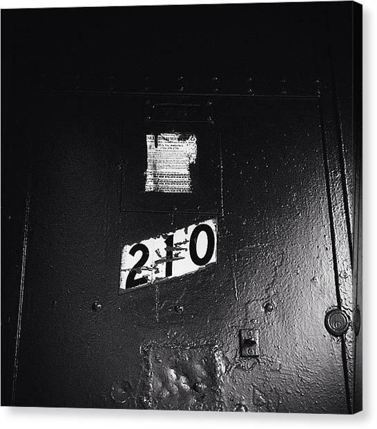 Prince Canvas Print - Door Of Hell  #newyork #soho #nolita by Matthew Bryan Beck