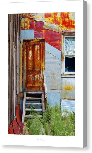 Door To The Past  St. Elmo Canvas Print