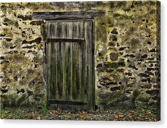 Door To Yesterday Canvas Print