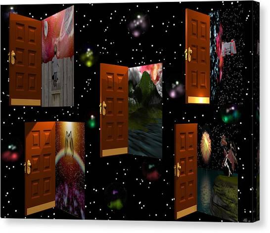 Door To Your Dreams Canvas Print