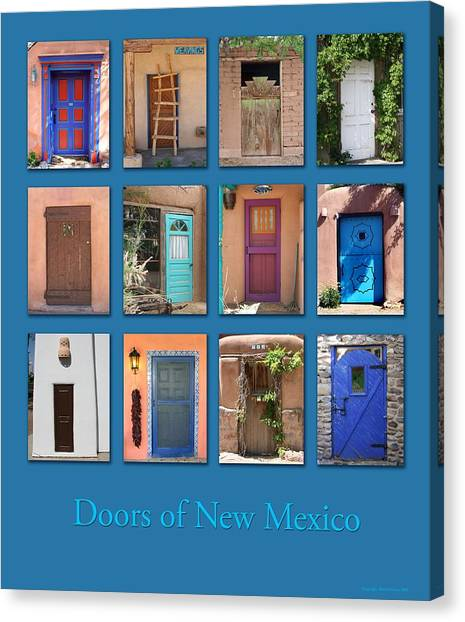 Doors Of New Mexico Canvas Print