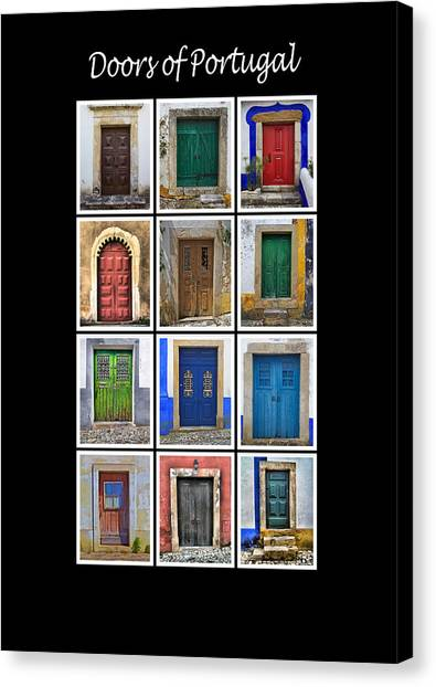 Doors Of Portugal Canvas Print
