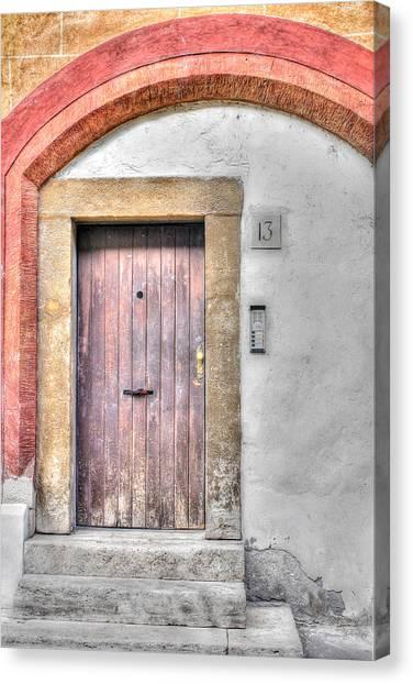 Doorway 13 Canvas Print