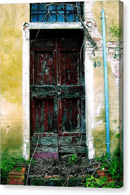 Doorway 49 Canvas Print