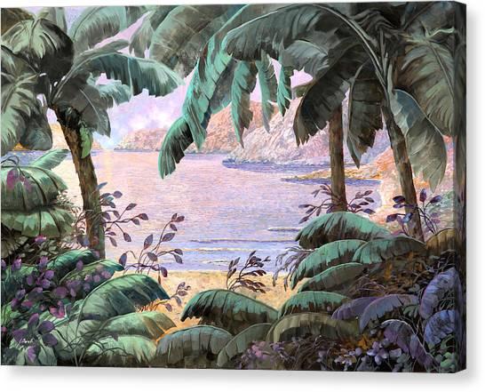 Jungles Canvas Print - Dopo La Jungla Il Mare by Guido Borelli