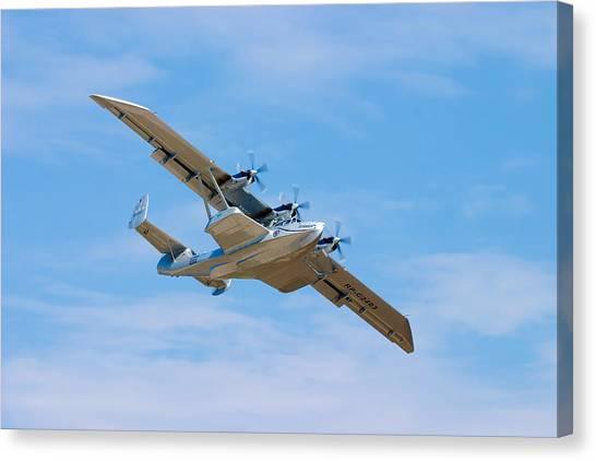 Seaplanes Canvas Print - Dornier Do-24 by Adam Romanowicz