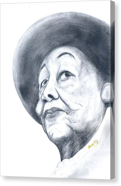Dorothy Height Canvas Print