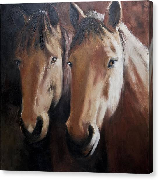Dos Equis Canvas Print by Terri  Meyer
