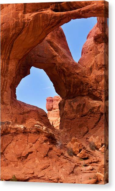 Double Arch Canvas Print