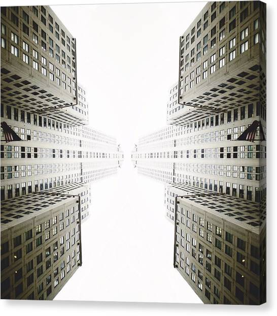New York City Canvas Print - Double Deco by Natasha Marco