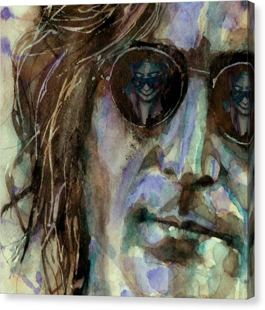 Yoko Ono Canvas Print - Double Fantasy by Paul Lovering