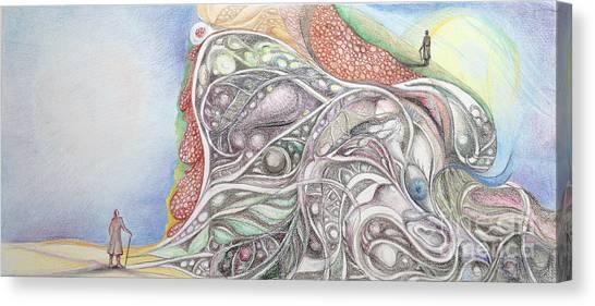 Double Life 1 Canvas Print