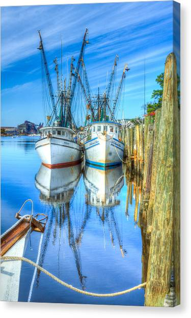 Double Parked Canvas Print