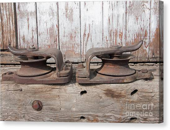 Double Pully Canvas Print