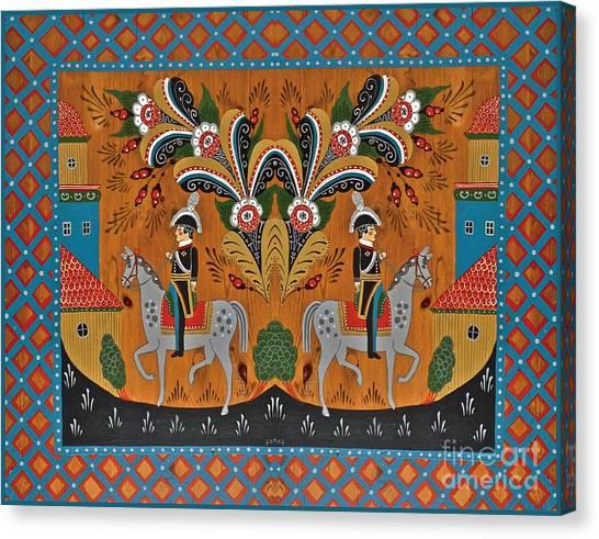 Double Swedish Kings II Canvas Print by Leif Sodergren