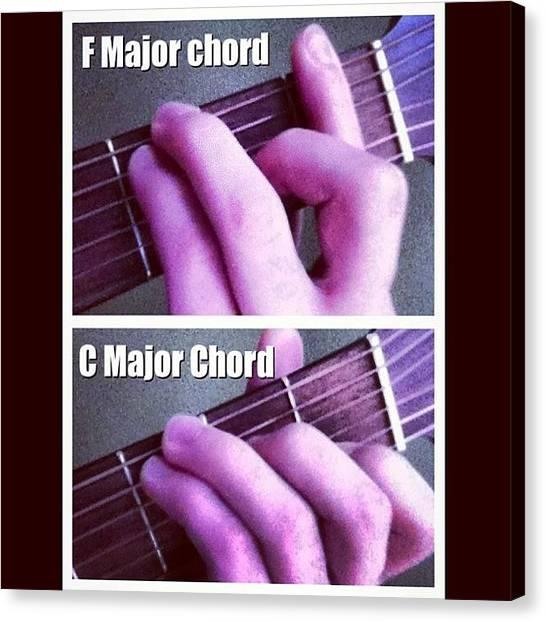 Guitar Picks Canvas Print - Double Tap If This Is True:) #guitar by Josh  Brackenridge