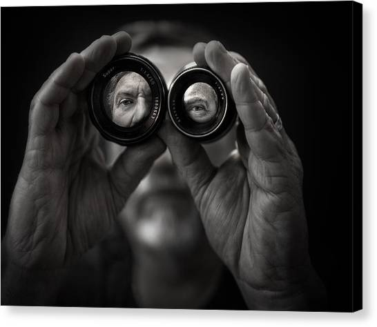 Double Vision Canvas Print by Photo by marianna armata
