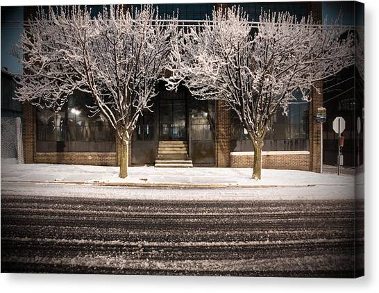Doubletree Canvas Print by Scott Moore
