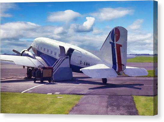 Douglas Dakota Dc3 Canvas Print