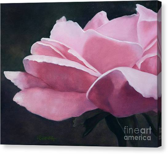 Dow Garden Rose Canvas Print