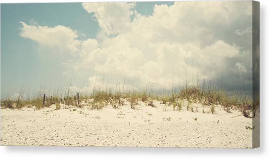 Down The Shore Canvas Print by Kate Livingston