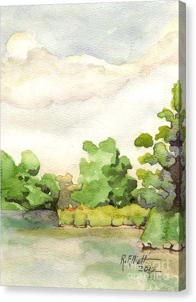 Downriver Napanee Canvas Print