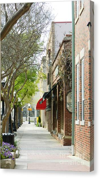 Downtown Aiken South Carolina Canvas Print