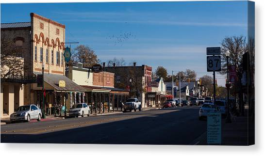 Downtown Boerne Canvas Print