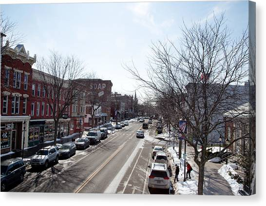 Downtown Brockport IIi Canvas Print