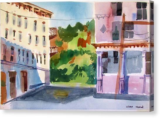 Downtown Kingston New York Canvas Print