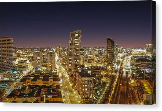 Downtown San Diego Canvas Print