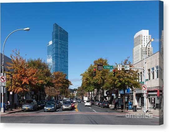Downtown White Plains New York IIi Canvas Print