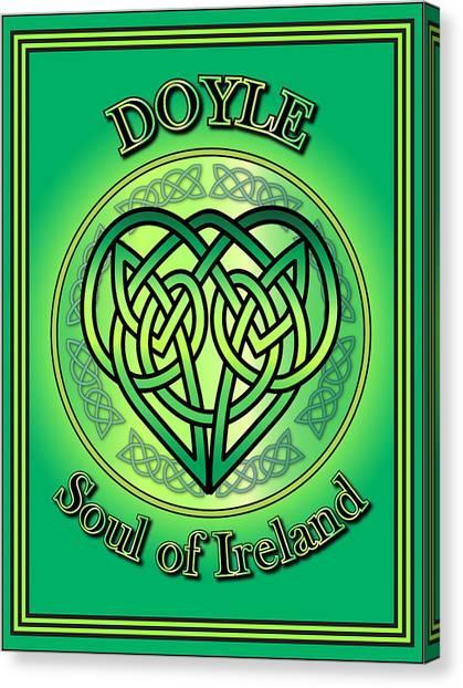 Doyle Soul Of Ireland Canvas Print